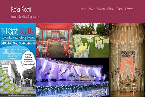 Wedding Website in Lucknow